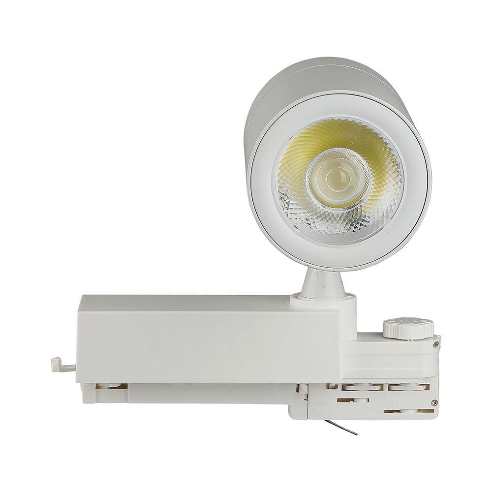 Proiector LED Sina 35W, Corp Alb 4500K