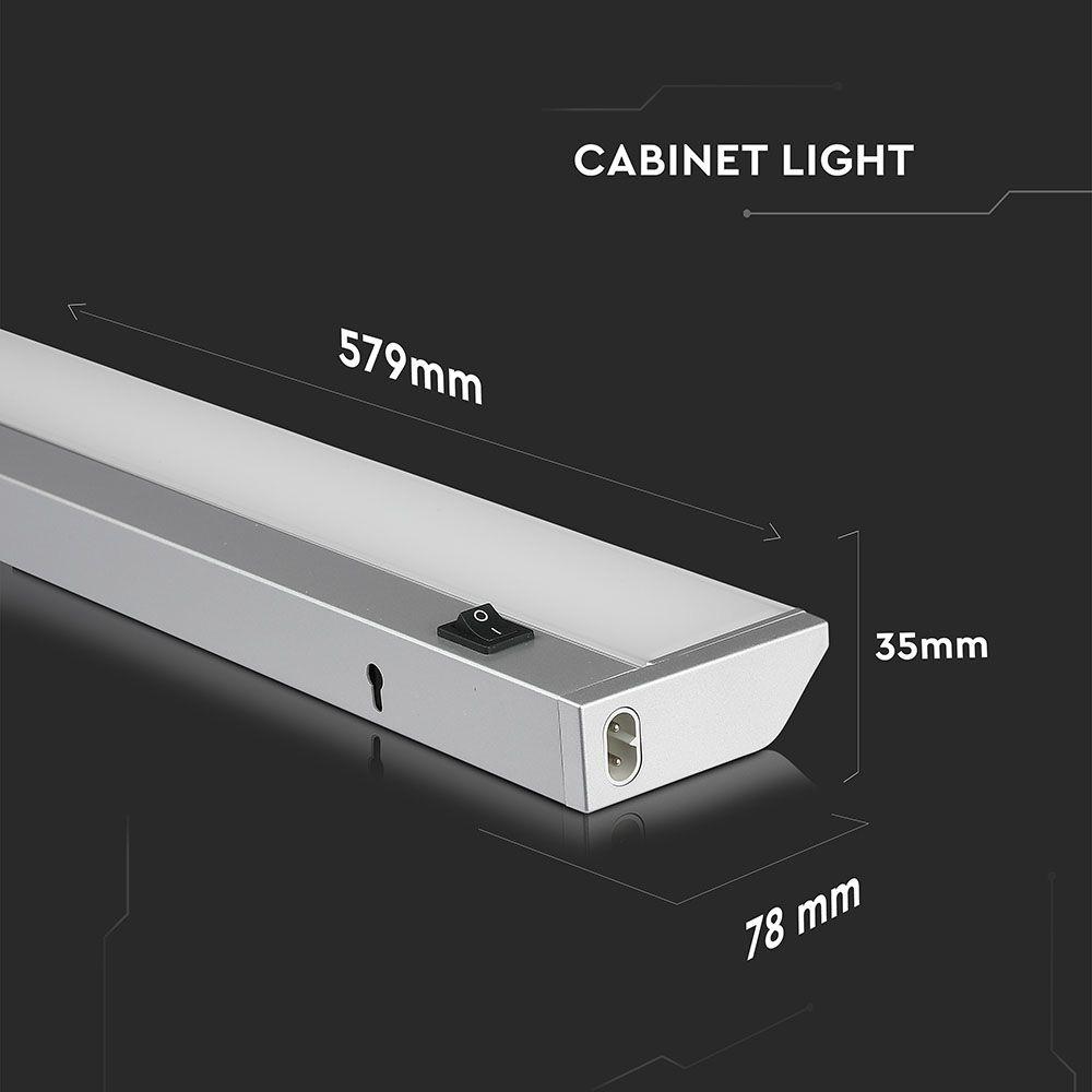 Corp iluminat Cabinet LED 10W, 60cm, 3000K