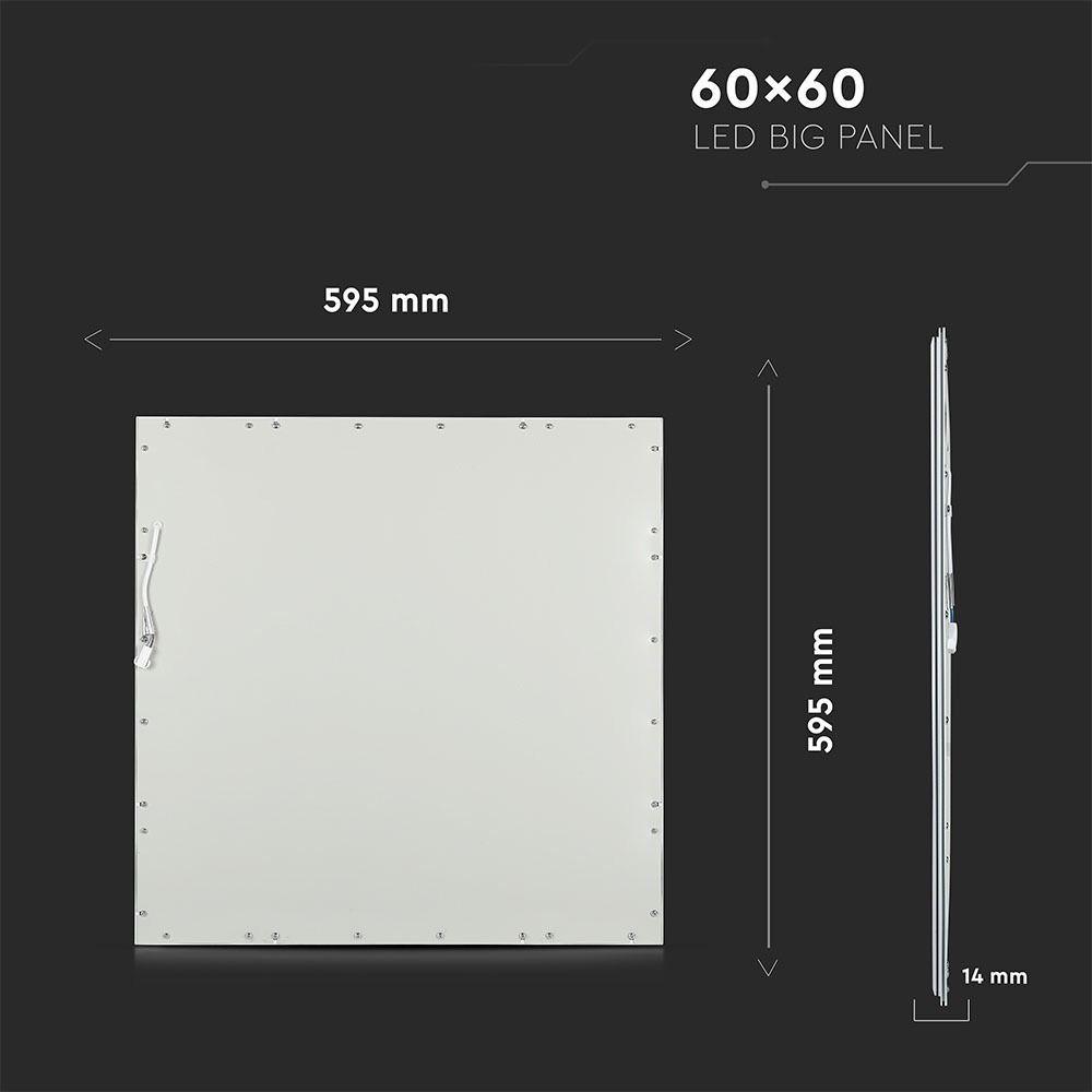 Panou LED 45W, 600 x 600 mm, 3000K, UGR, Driver Inclus
