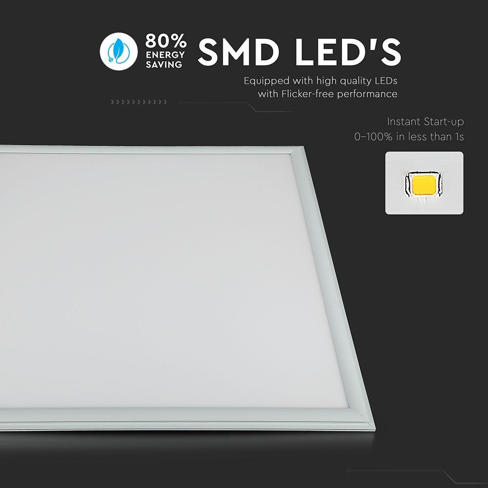 Panou LED 45W, 600 x 600 mm, 4500K, UGR, Driver Inclus