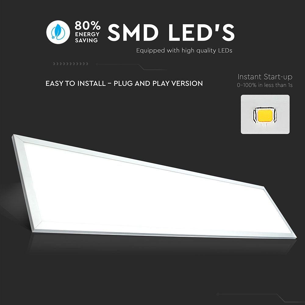 Panou LED 45W, 1200 x 300 mm, 3000K, Driver Inclus