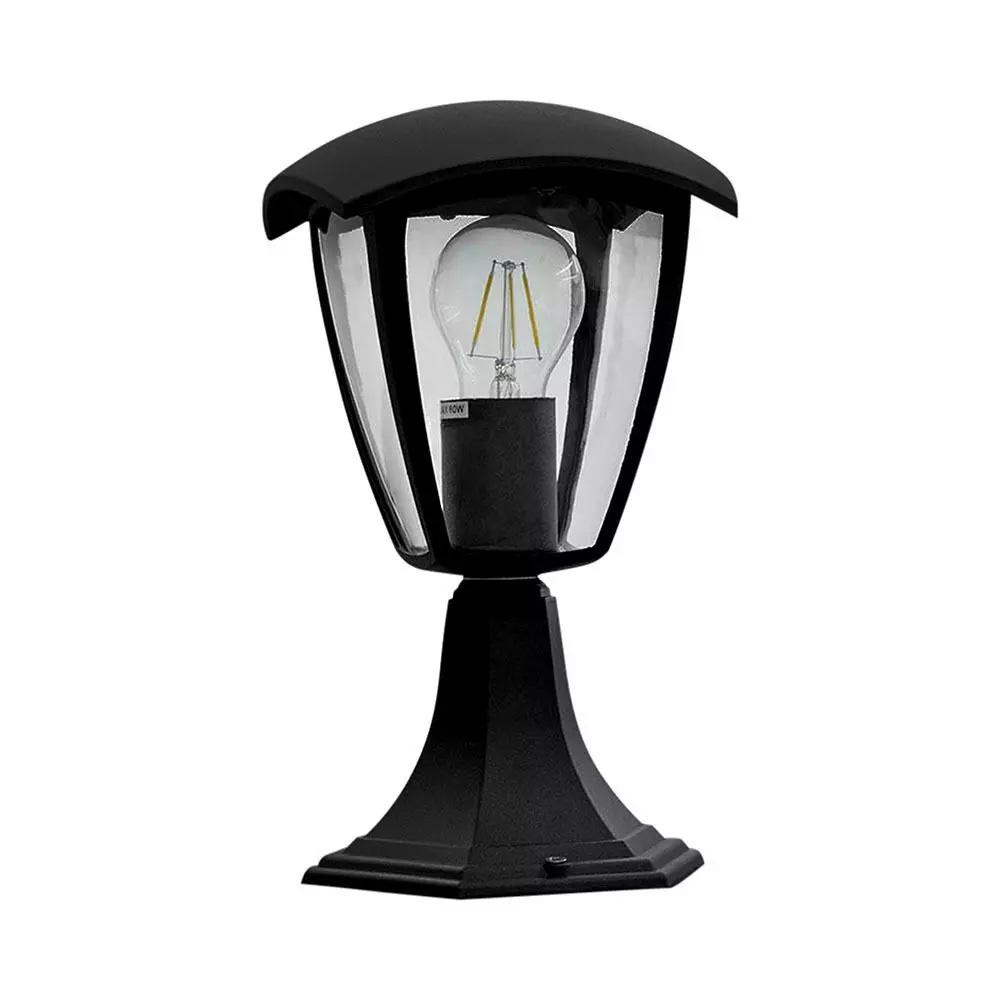 Lampa Gradina 300mm, IP44, Negru