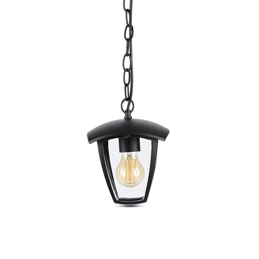 Lampa Gradina Tavan IP44 Negru