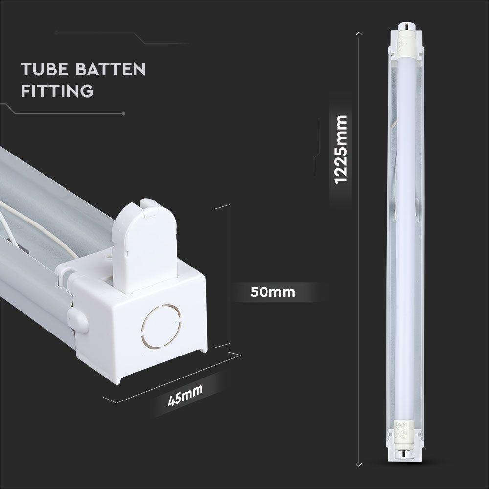 Corp pentru Tub T8 Aplicat 1*120 cm