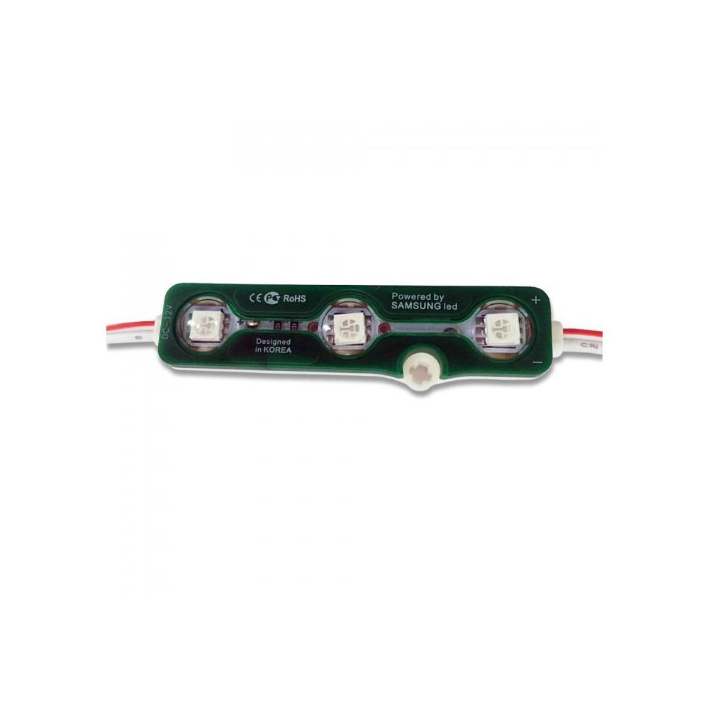 Module LED 3 Buc SMD5050 Verde IP67