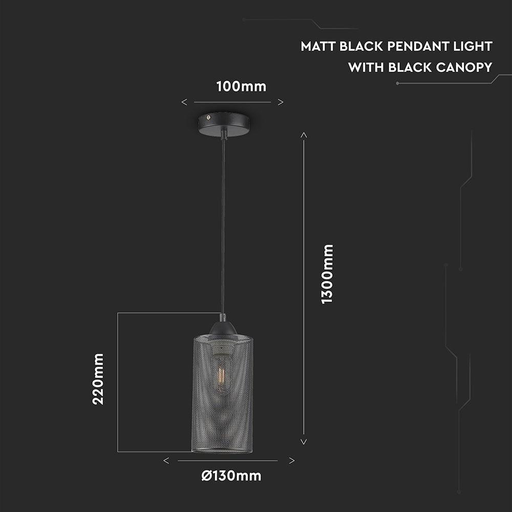 Pendant Light Champean Black