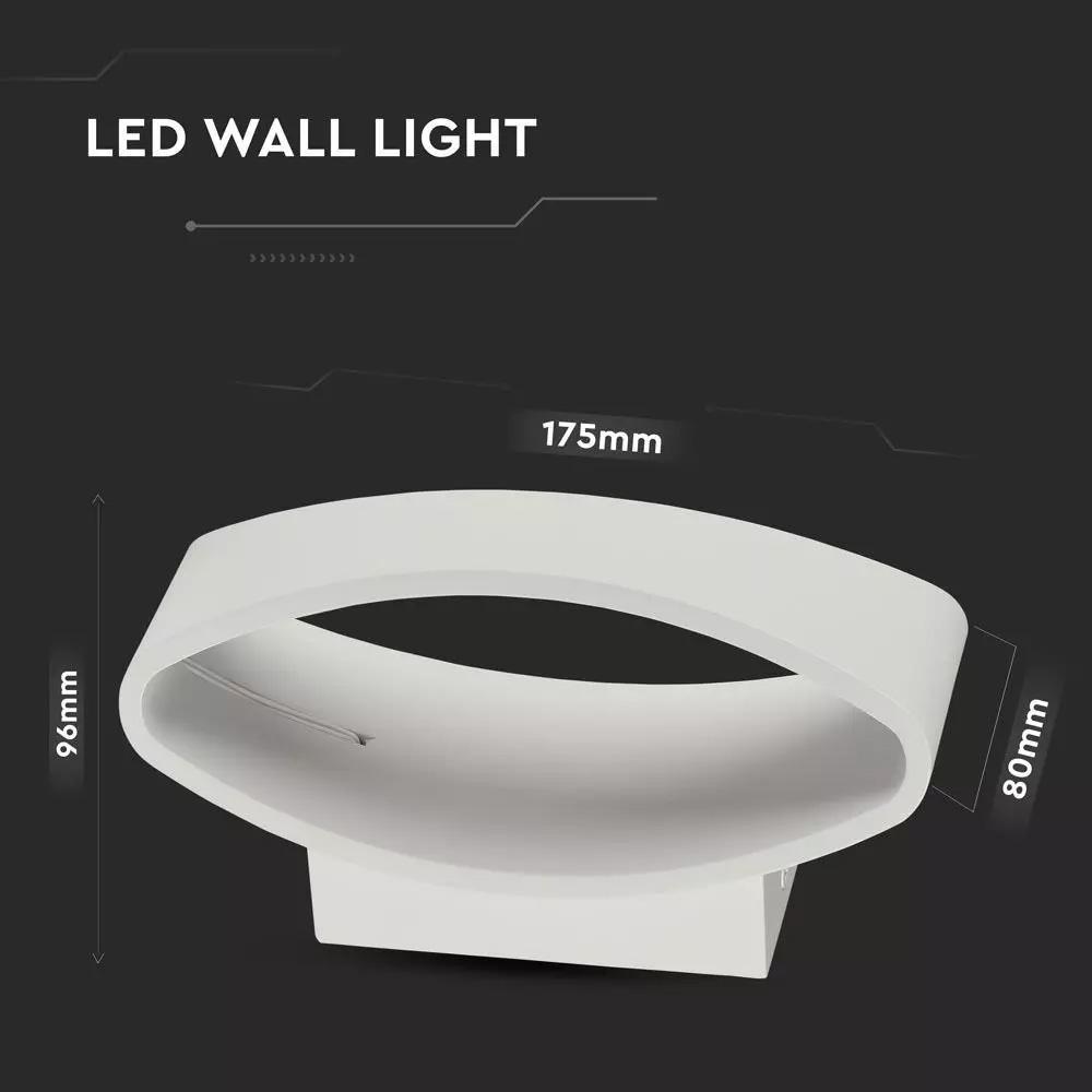 Lampa LED de Perete 5W, 3000K, IP20