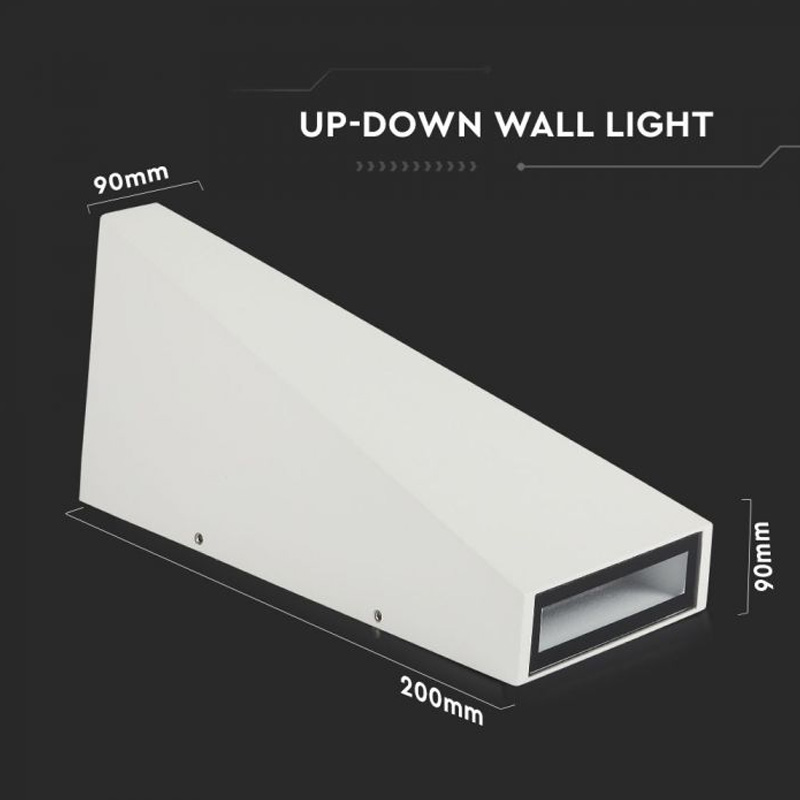 Lampa LED 6W, Corp Alb, IP65, Lumina Naturala (4000K)