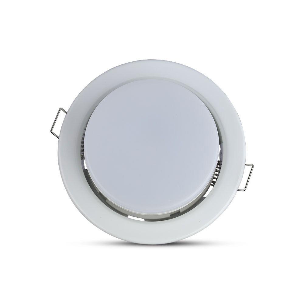 Rama Rotunda Alba pentru BEC GX53