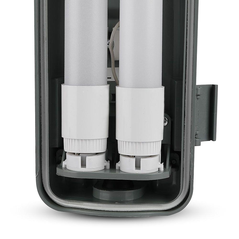 Lampa LED 1.5m cu 2 Tuburi x 22W Fiecare, Lumina Naturala 4000K, IP65