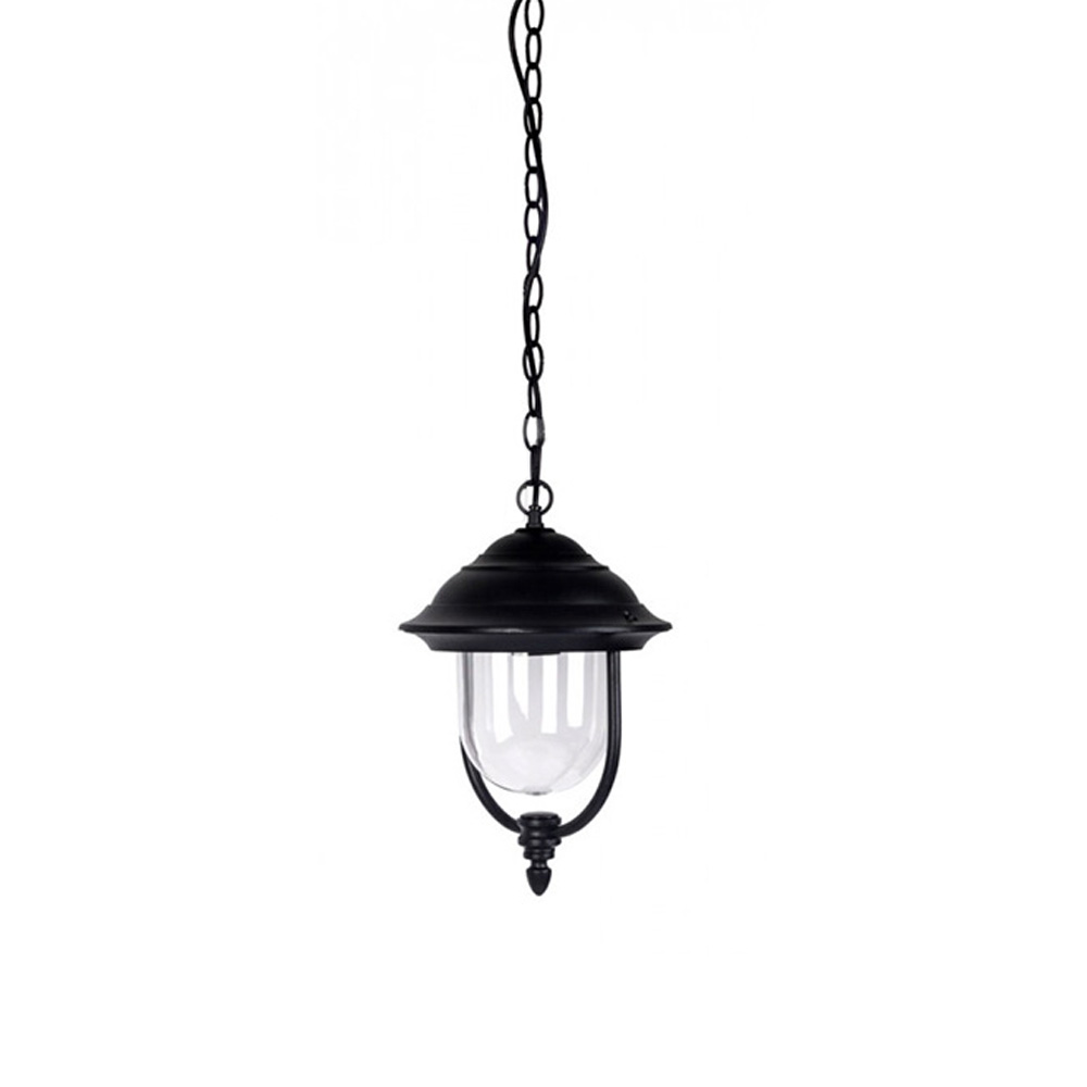 Lampa LED Suspendata, Corp Negru 1 x E27, IP44