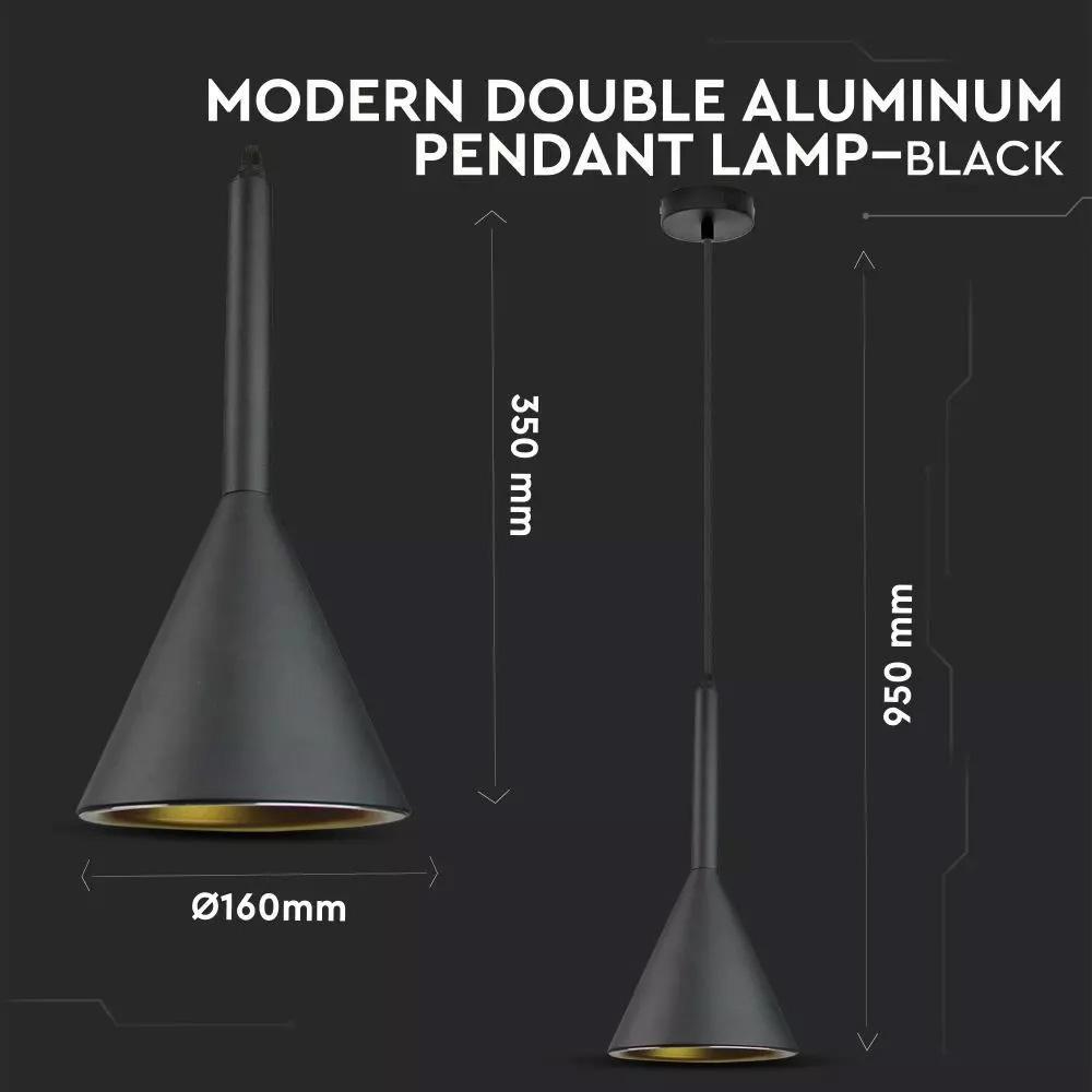 Pendul Aluminiu Negru