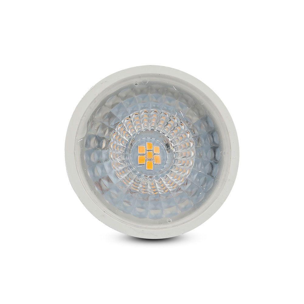 Spot Led GU10, 6.5W, Lumina Calda 3000K cu Chip Samsung, Dimabil