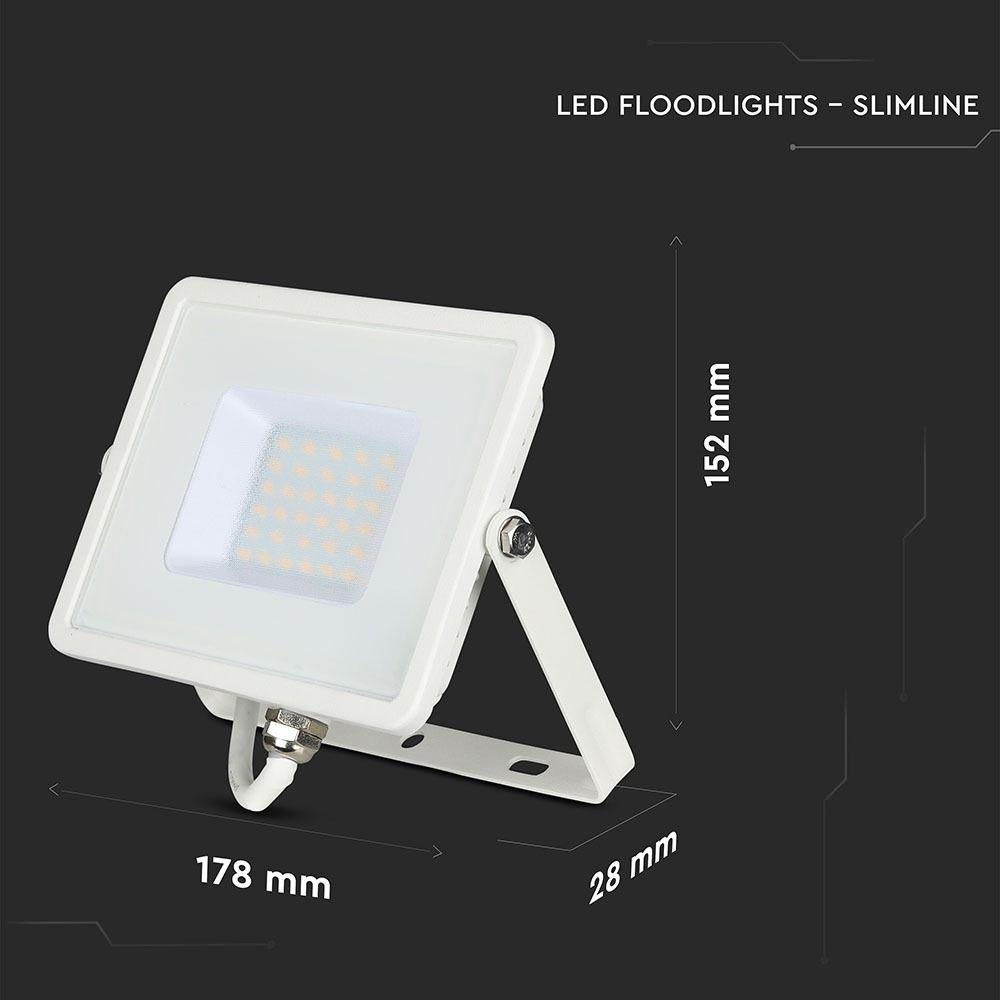 Proiector LED 20W, Lumina Naturala cu Chip Samsung