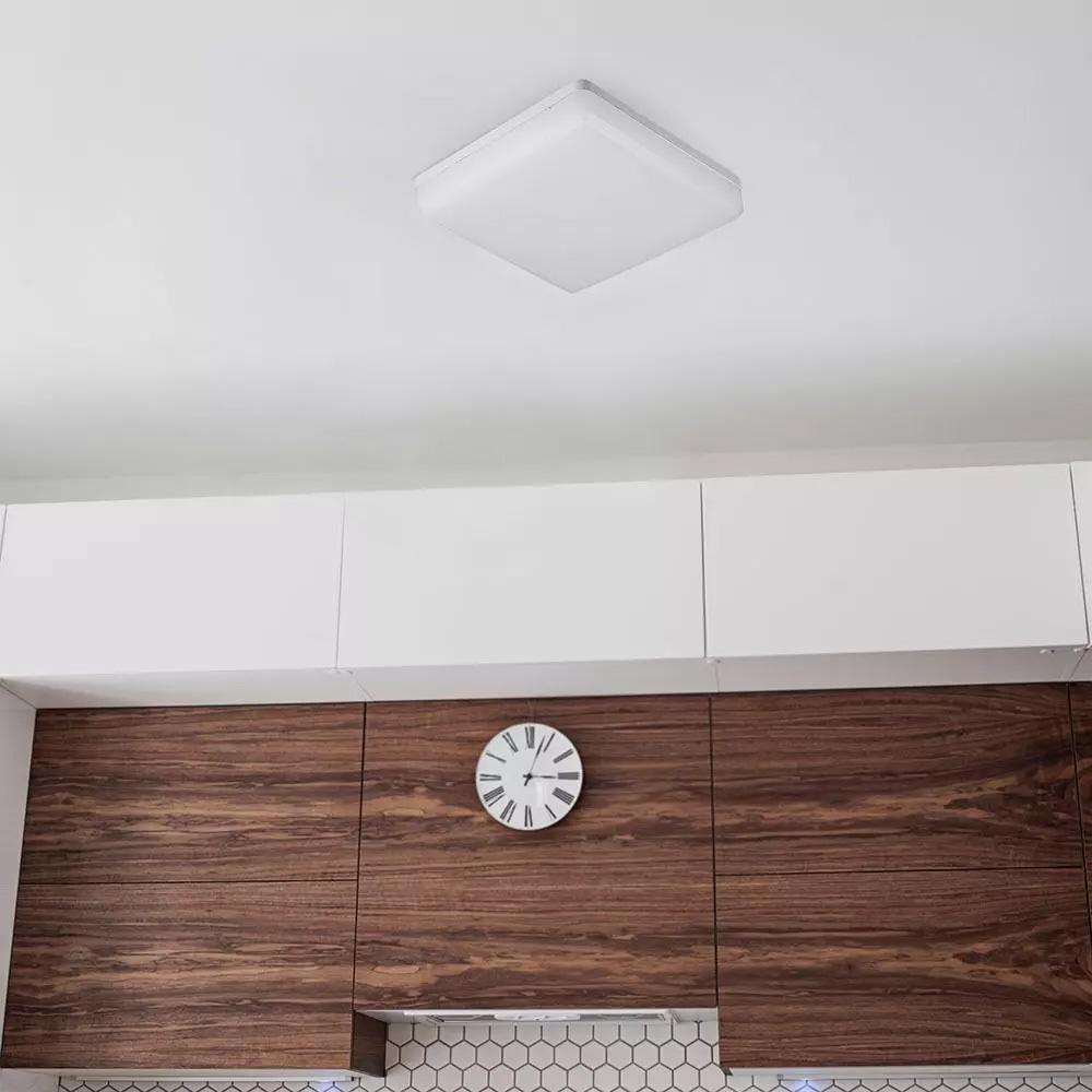 Aplica LED 15W, Patrata, Lumina Calda 3000K