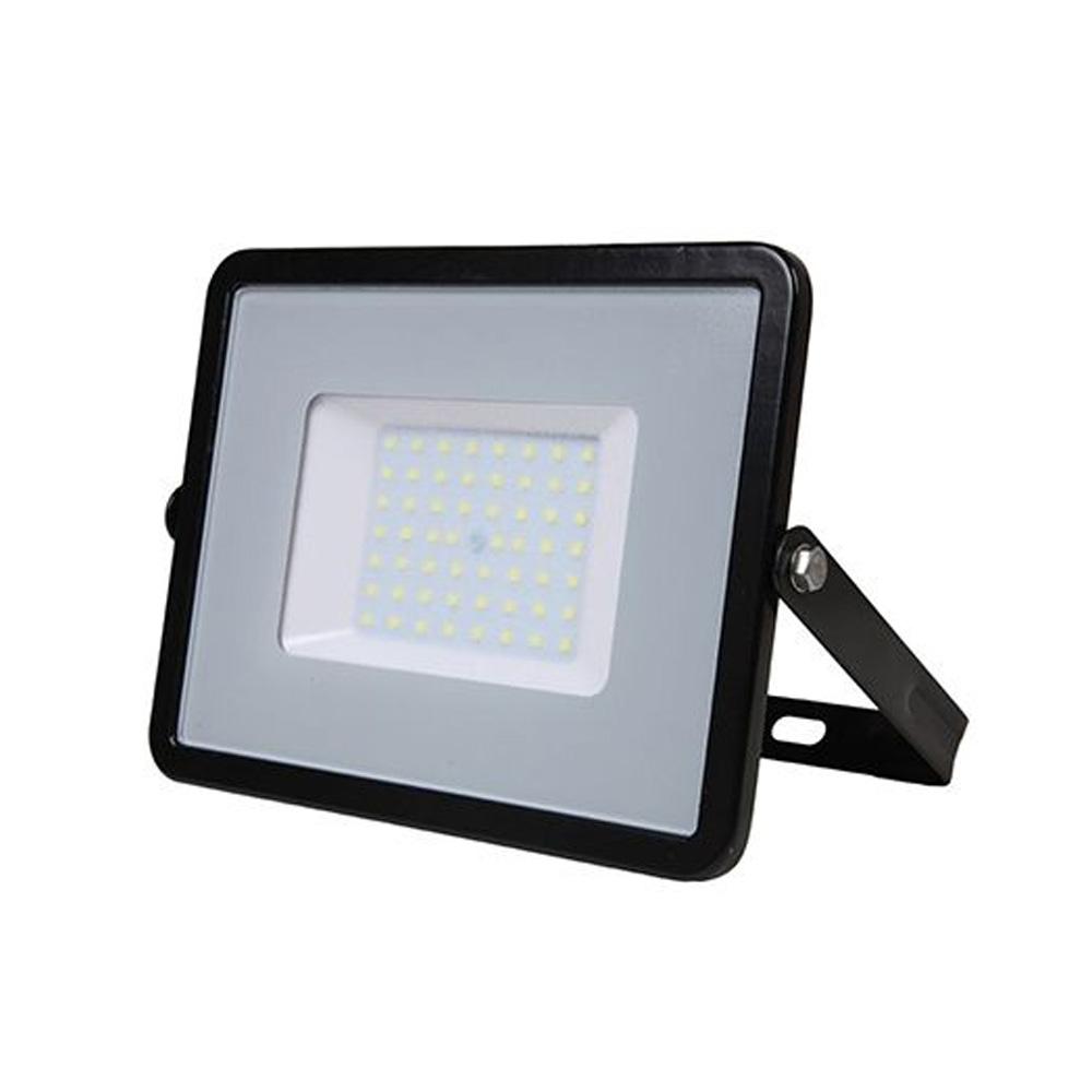 Proiector LED 50W, 4000 LM Cip Samsung, Corp Negru, Lumina Rece
