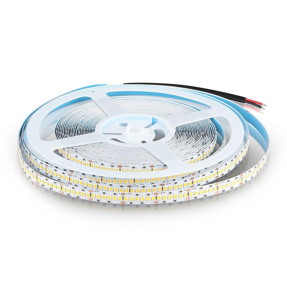 Banda LED SMD2835, 15 W/m 240LED/m, Cip Samsung, Lumina Naturala 4500K 24V, 10ML/ROLA