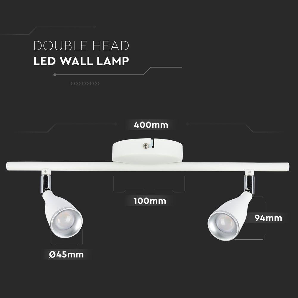 Lampa led tavan 2x4,5W, Lumina Naturala