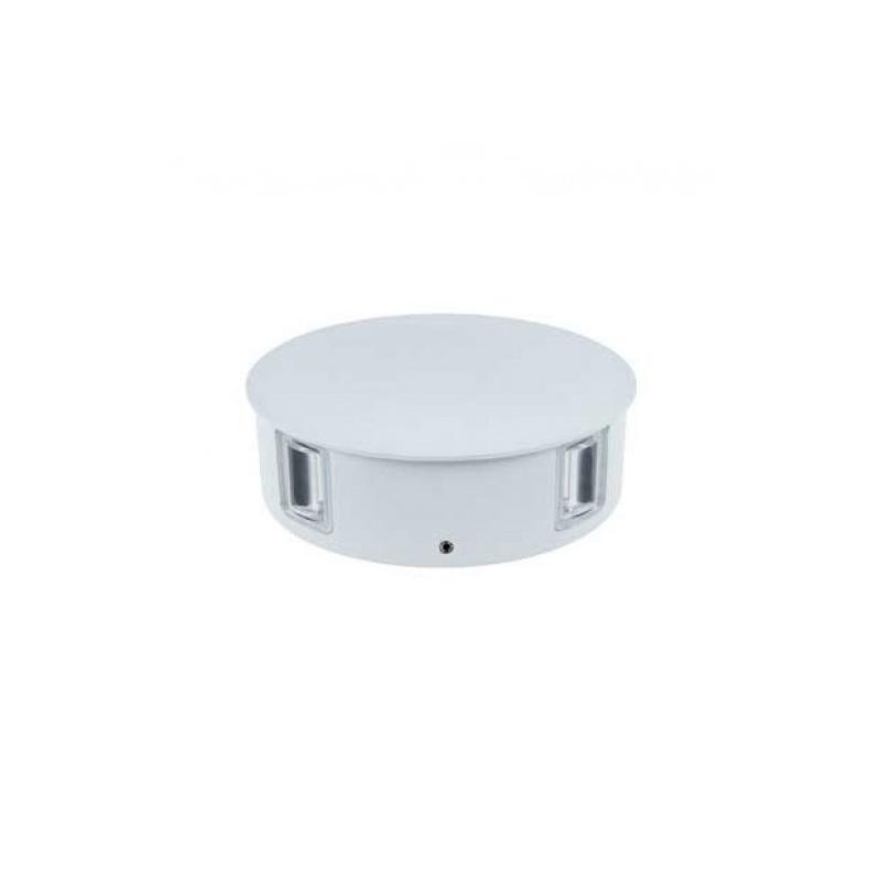 Lampa de Perete LED 4W, Corp Alb Rotund, Lumina Calda (3000K) IP65