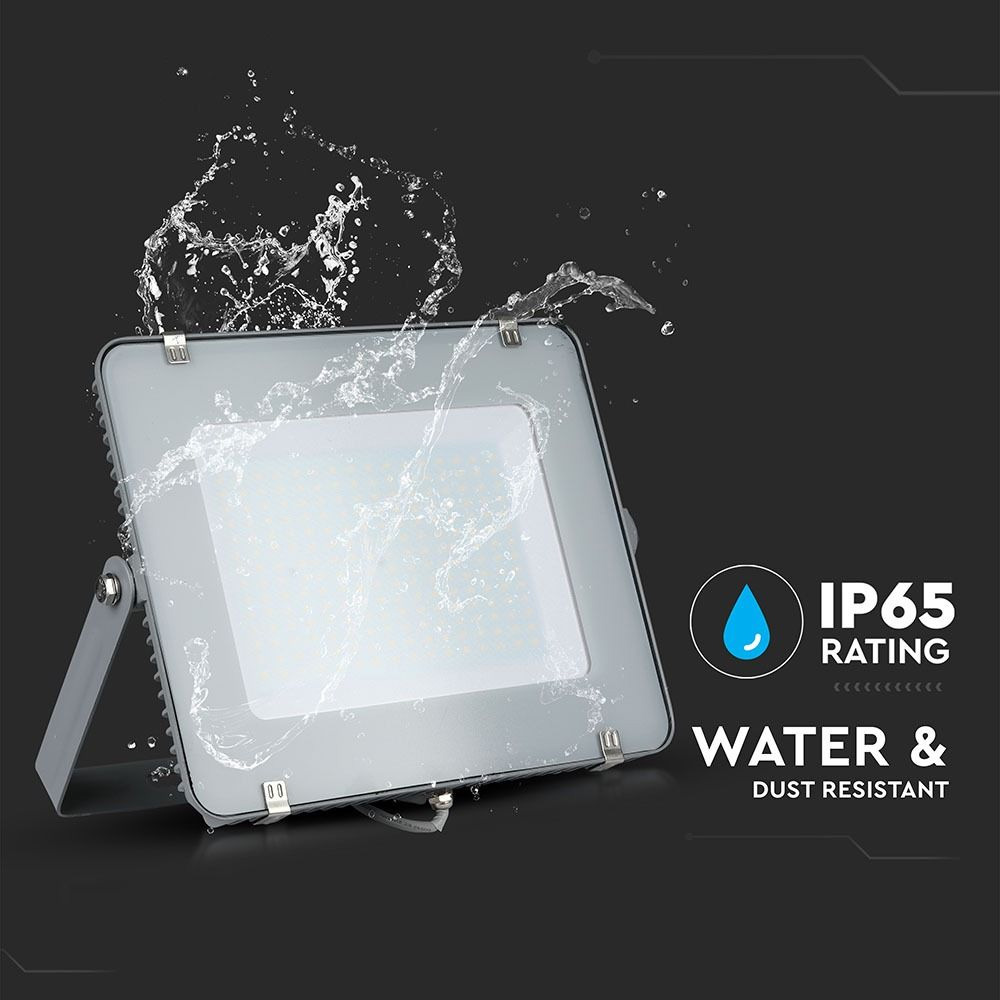 Proiector LED 200W, SMD CIP Samsung, Corp Gri, Lumina Naturala