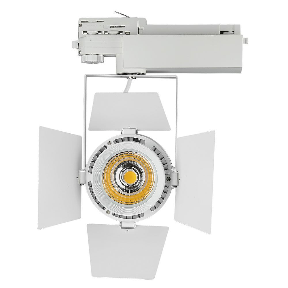 Proiector LED pe Sina 33W, Corp Alb, Lumina Naturala cu CIP SAMSUNG