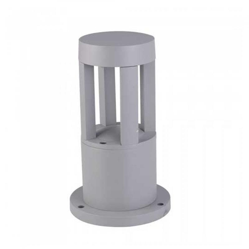 Stalpisor LED 10W, Corp Gri, Inaltime 25cm, Lumina Calda (3000K)