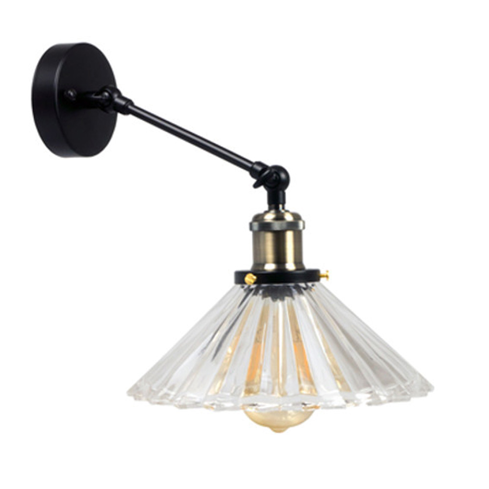 Lampa de Perete,  Forma W/V, Sticla