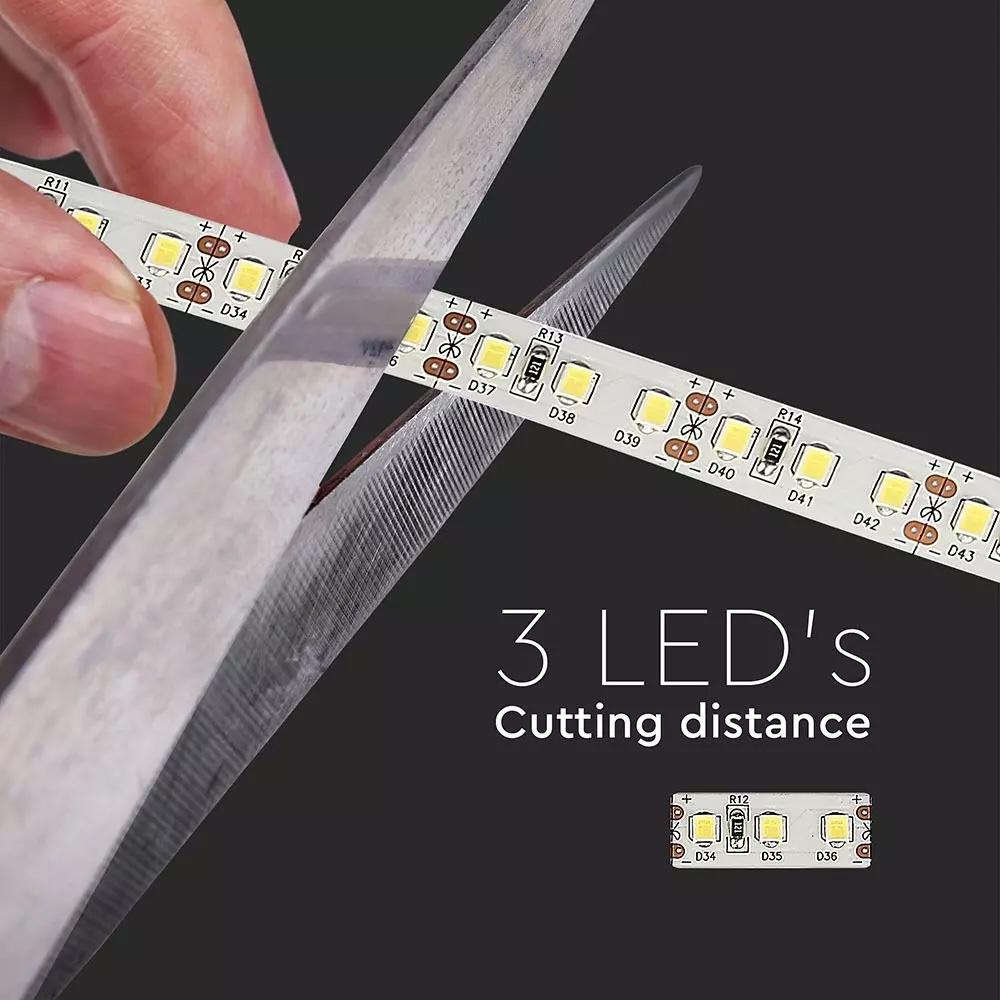 Banda LED 2835, 12 W/m 120 LED/M, 12V, IP20, Lumina Rece 6500K, CIP SAMSUNG