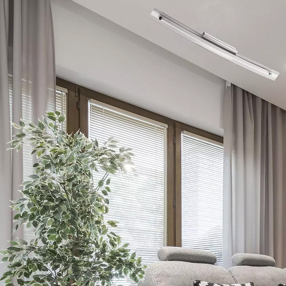 Lampa de Perete LED 12W, Sticla Crom, Lumina Naturala