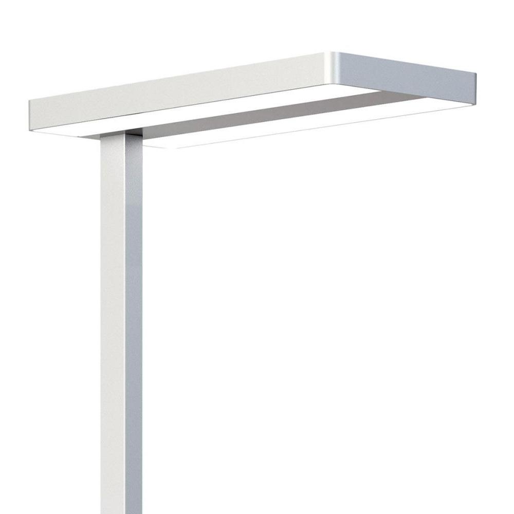 Lampa De Iluminat Pentru Podea Cu LED 80W, Argintie, Rotunda