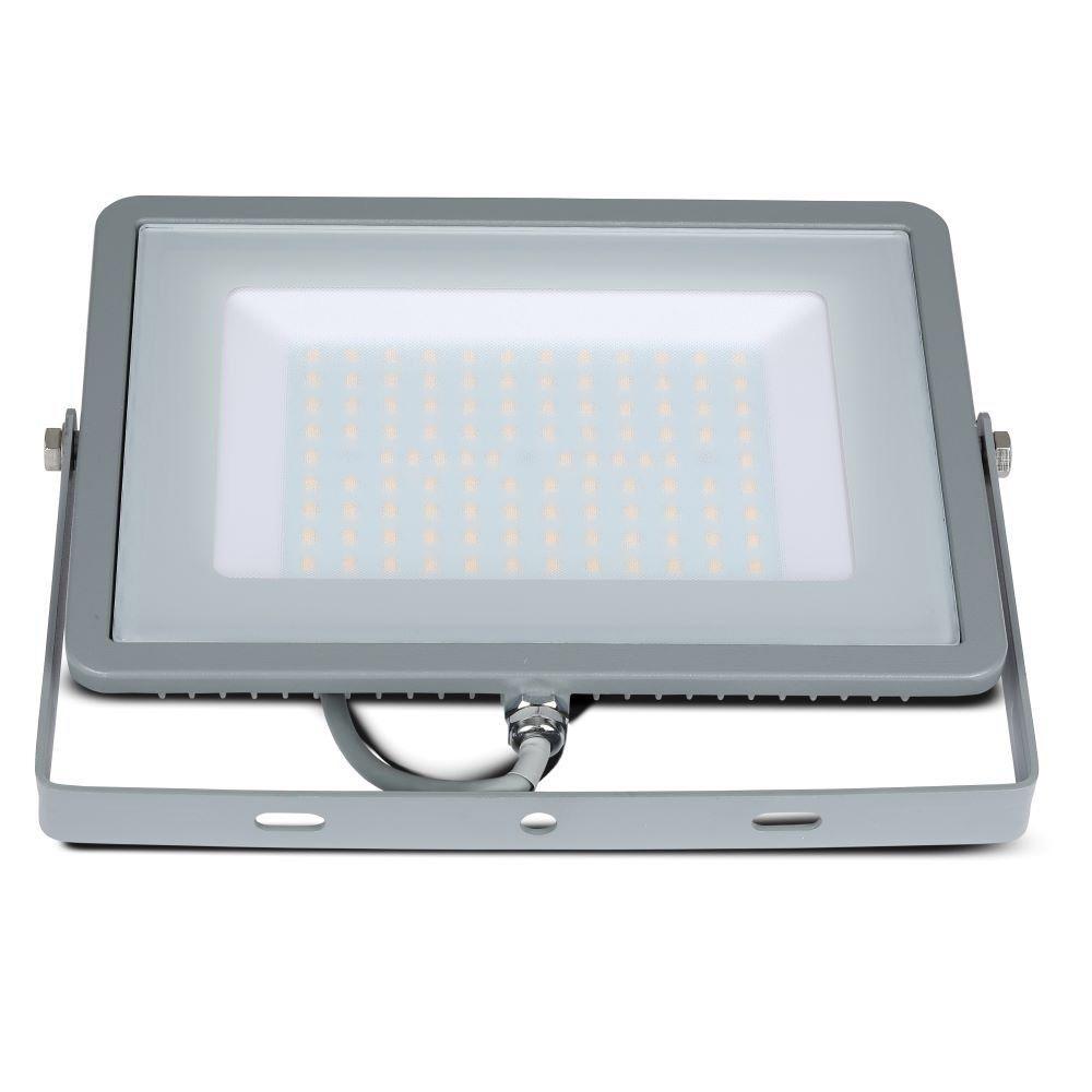 Proiector LED 100W, Corp Gri, Lumina Rece - Cip SAMSUNG