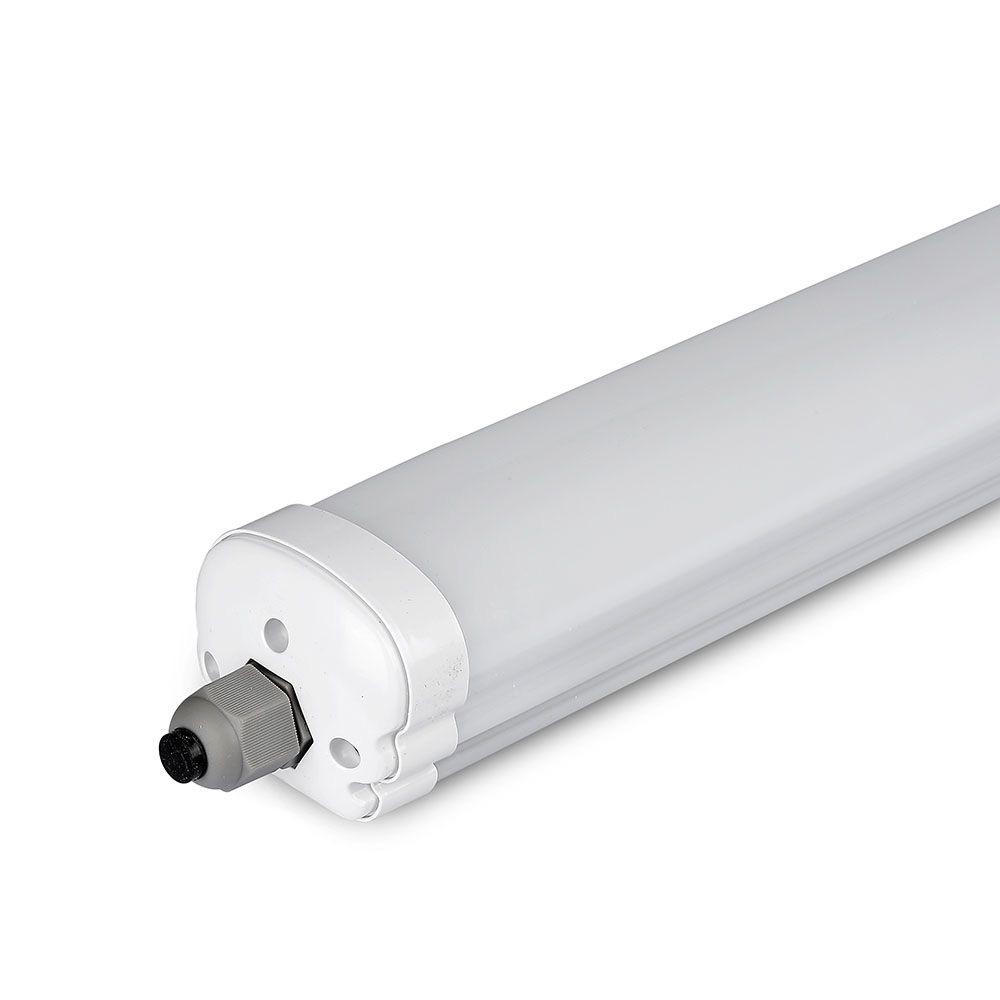 Lampa Liniara LED Impermeabila 60W, 1.8M, Lumina Rece 6400K Cip Samsung