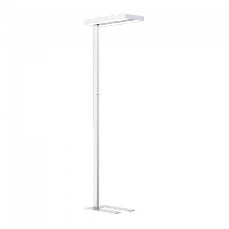 Lampa De Iluminat Pentru Podea Cu LED 80W, Dimabila, 4000K, Alba Rotunda