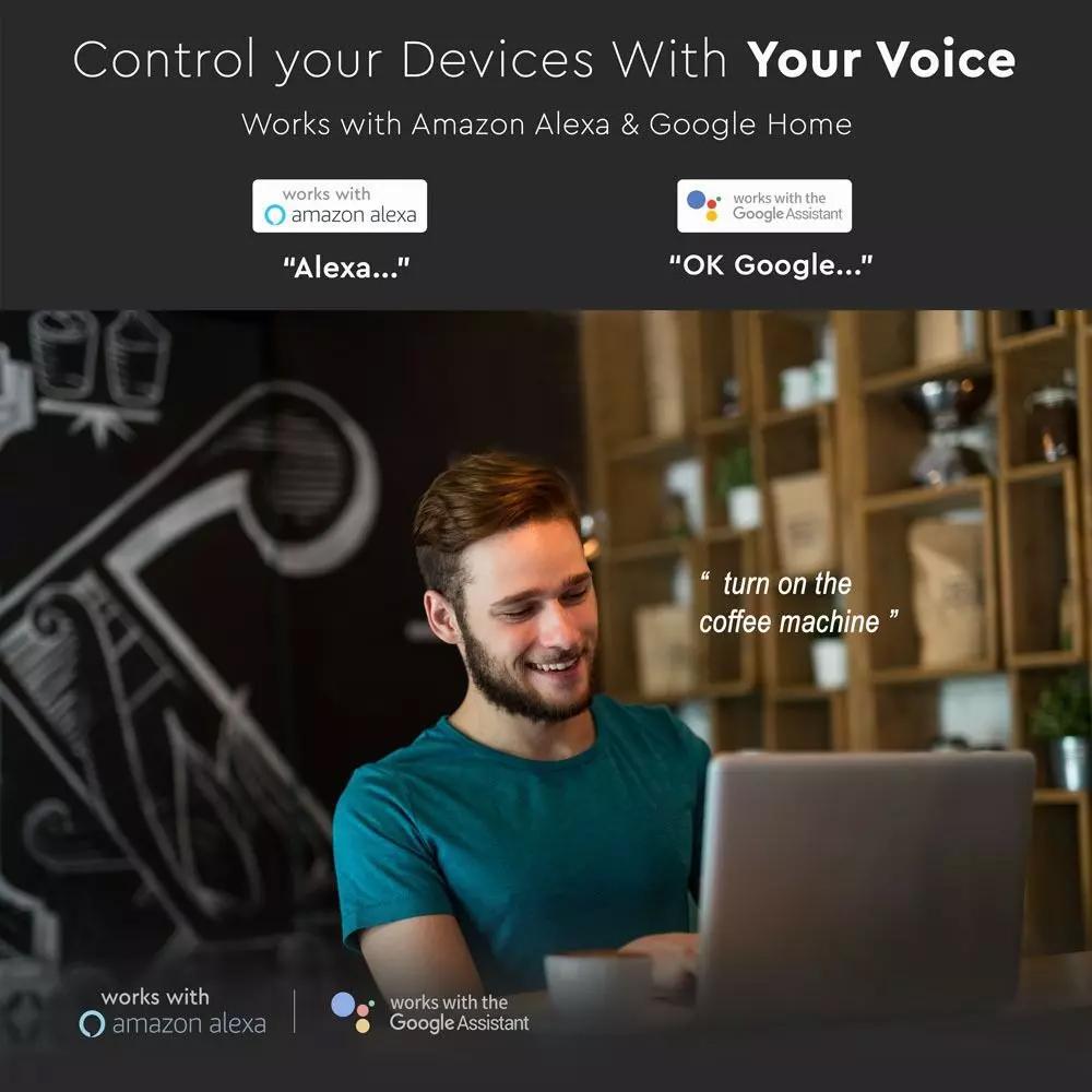 Driver Wi-fi 10A - Compatibil cu Amazon Alexa si Google Home