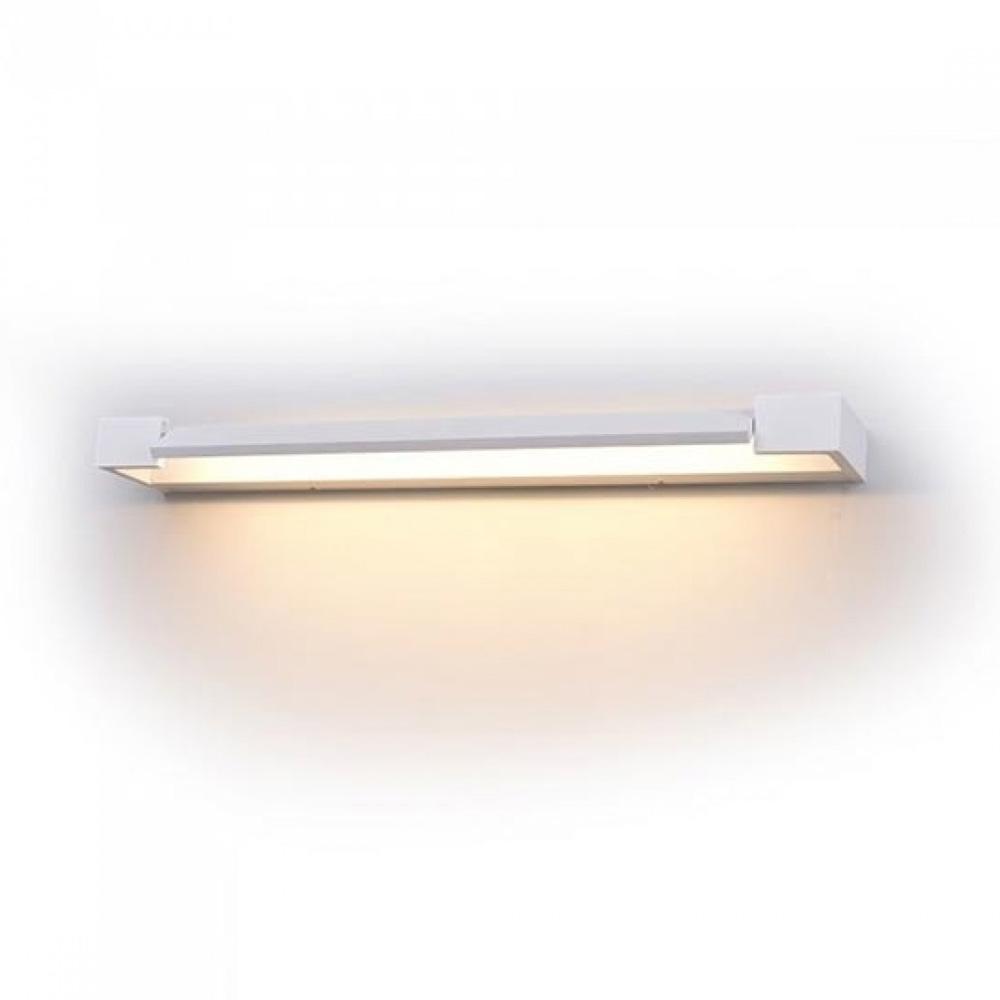 Lampa LED 18W de Perete, Corp Alb, IP44, Lumina Naturala