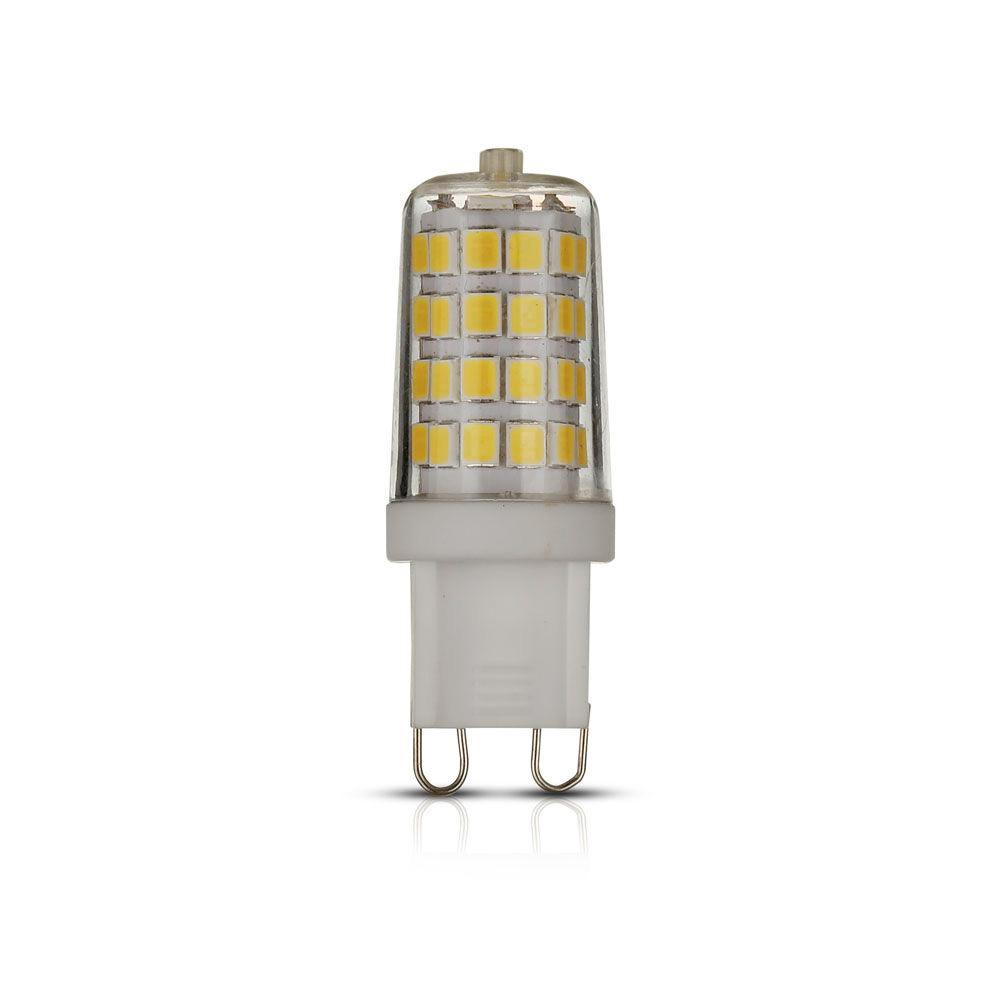 Bec LED 3W G9, Plastic, Lumina Calda 3000K, Cip Samsung