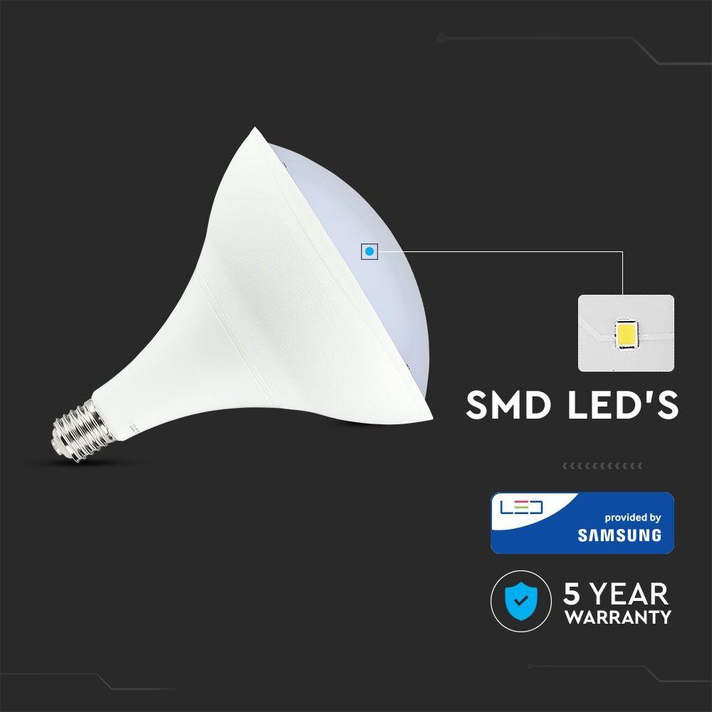 Bec LED 85W E40 Low Bay, Lumina Naturala 4000K cu Cip Samsung