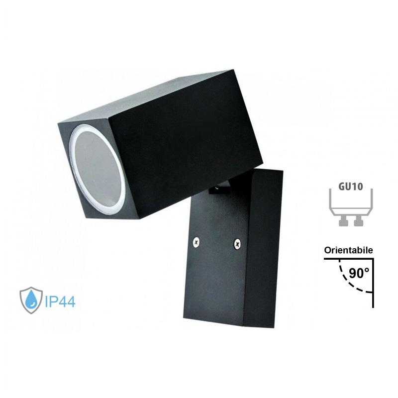 Lampa de Perete din Aluminu GU10, Ajustabila, IP44