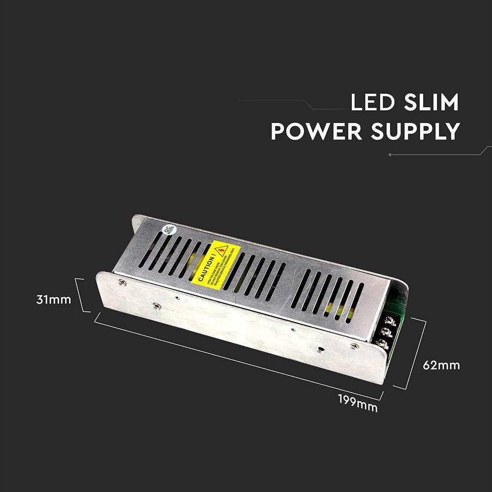Sursa LED 150W, Dimabila 12V, 12.5A, IP20