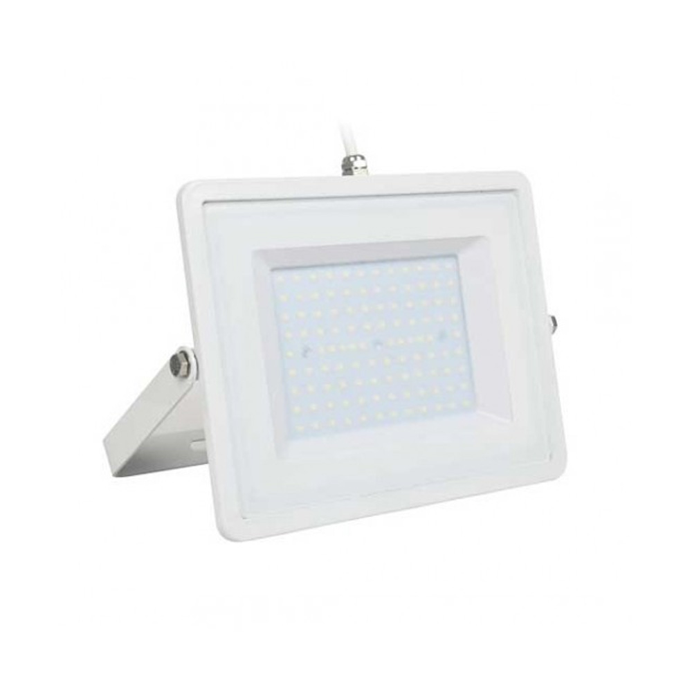 Proiector LED 100W cu Cip Samsung, Corp Alb, Lumina Rece