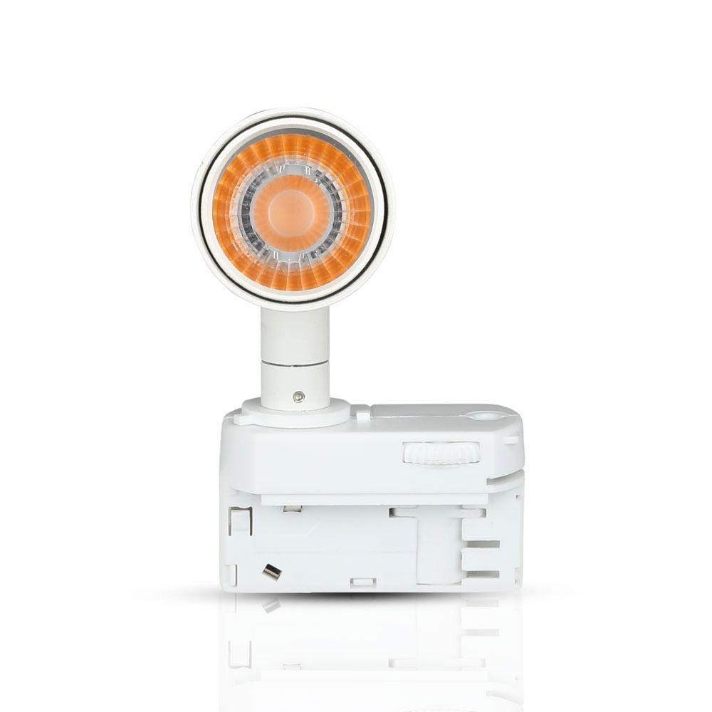 Proiector pe Sina cu LED 20W, Corp Alb, Lumina Calda CIP SAMSUNG