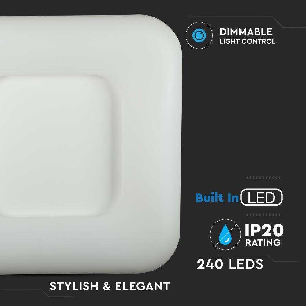 Aplica LED Patrata 26W, Dimabila