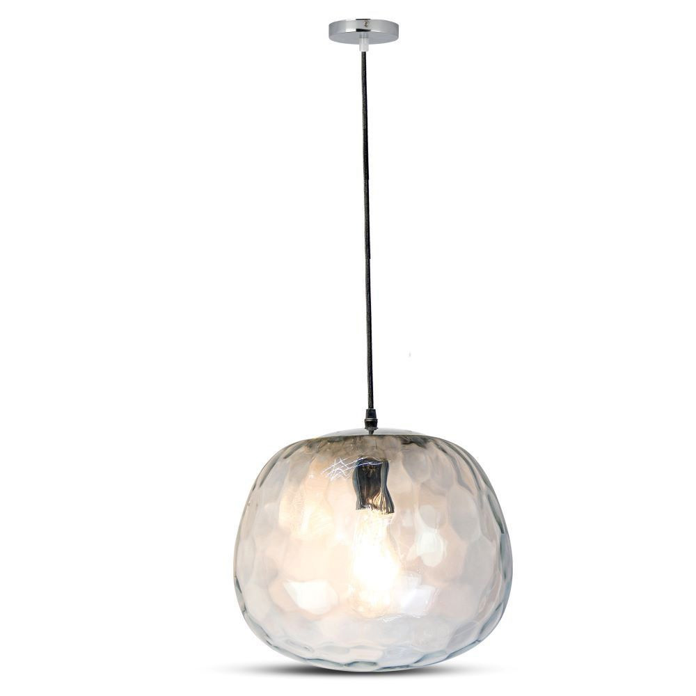 Pendul Design din Sticla, Rotund, Forma Bulb Ф250мм