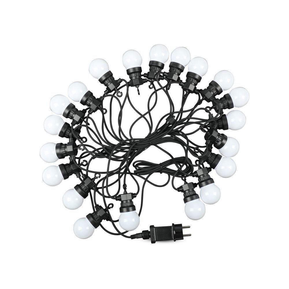 Ghirlanda RGBY cu 20 Becuri de 0.5W, Lungime 10M, 24V