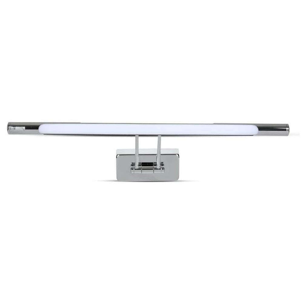 Lampa LED 8W pentru Tablou/Oglinda, Crom, Lumina Calda
