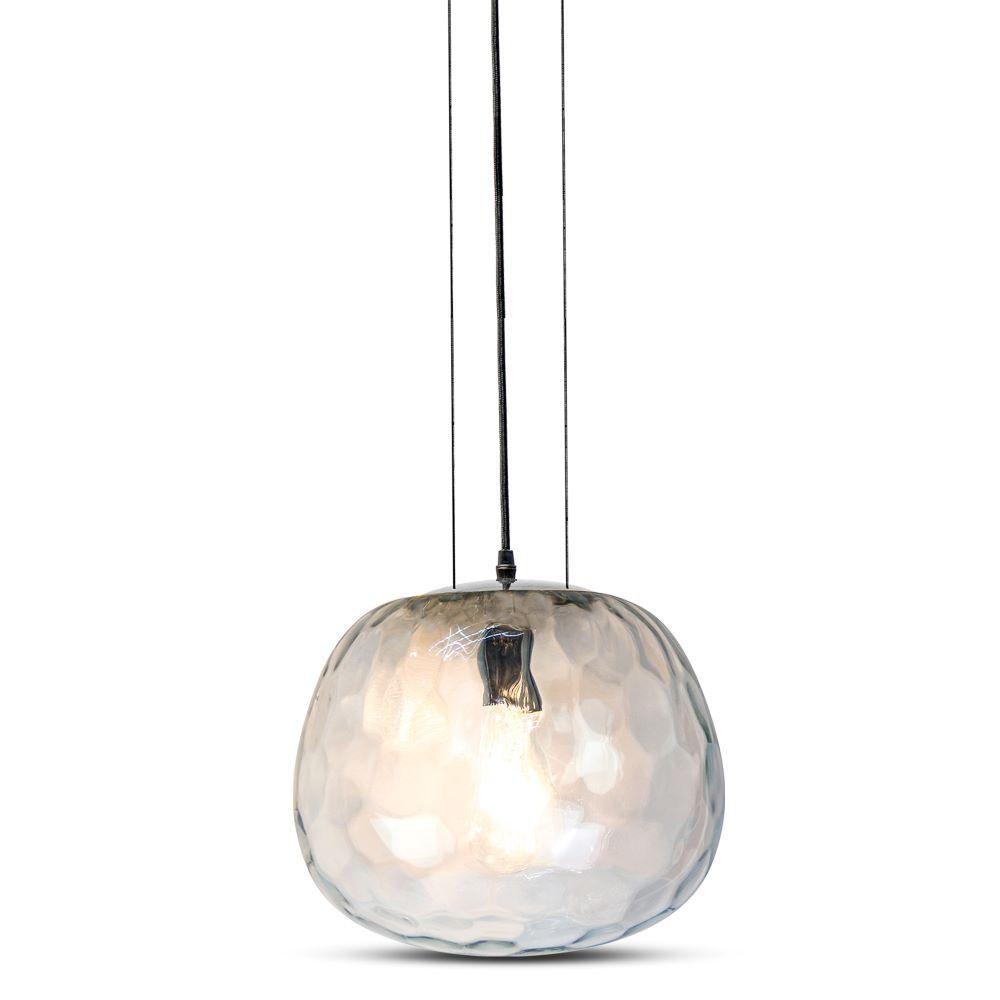 Pendul Designer Sticla Transparent Ø300mm, Suspendat