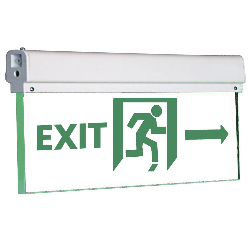 Lampa Emergenta Exit 3W din Sticla
