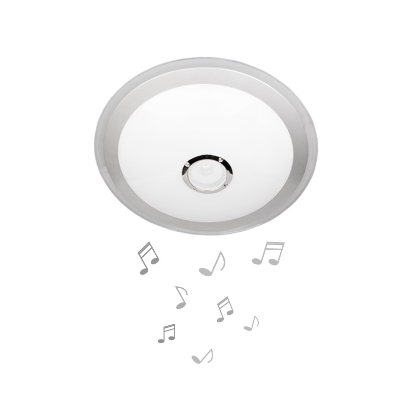 Aplica Muzicala LED 36W, 530mm, Model LY6123 cu Conectare prin Bluetooth