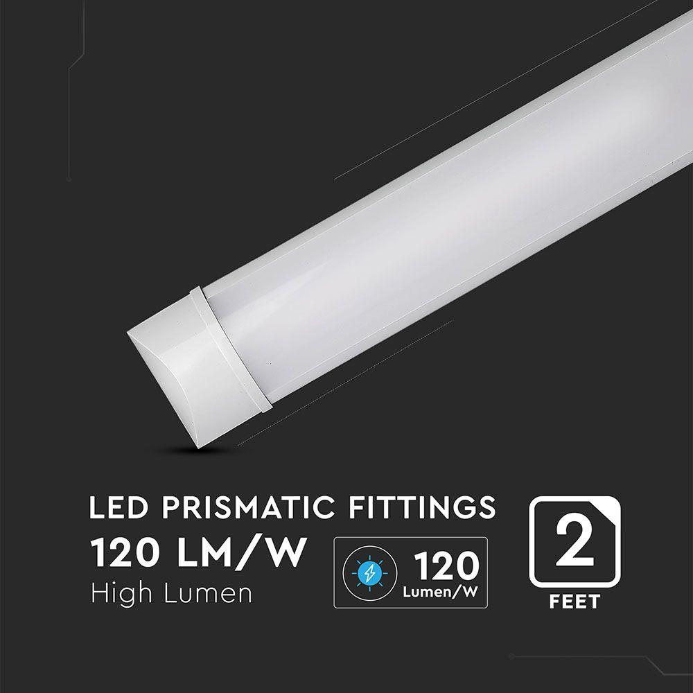 Lampa LED 20W, 60cm, 120LM/WATT, Lumina Naturala (4000K) cu CIP SAMSUNG