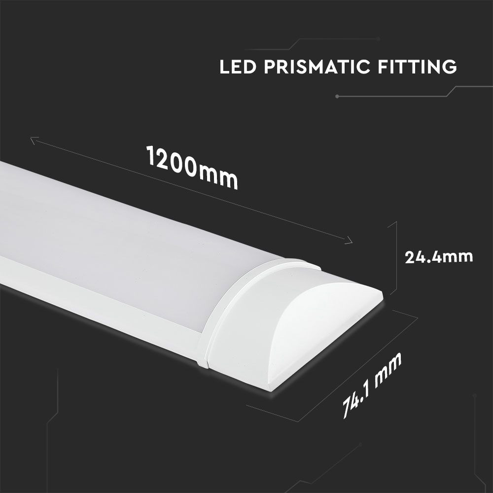 Lampa LED 40W, 120cm, 120LM/WATT, Lumina Rece 6400K cu Cip Samsung
